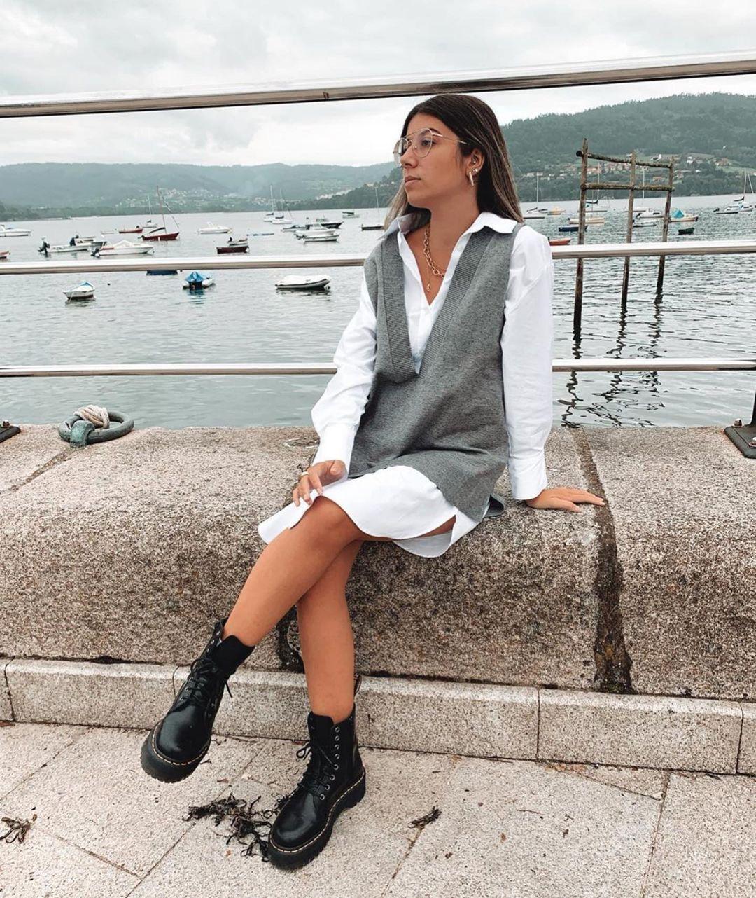 chemise oversize en popeline de Zara sur zara.outfits