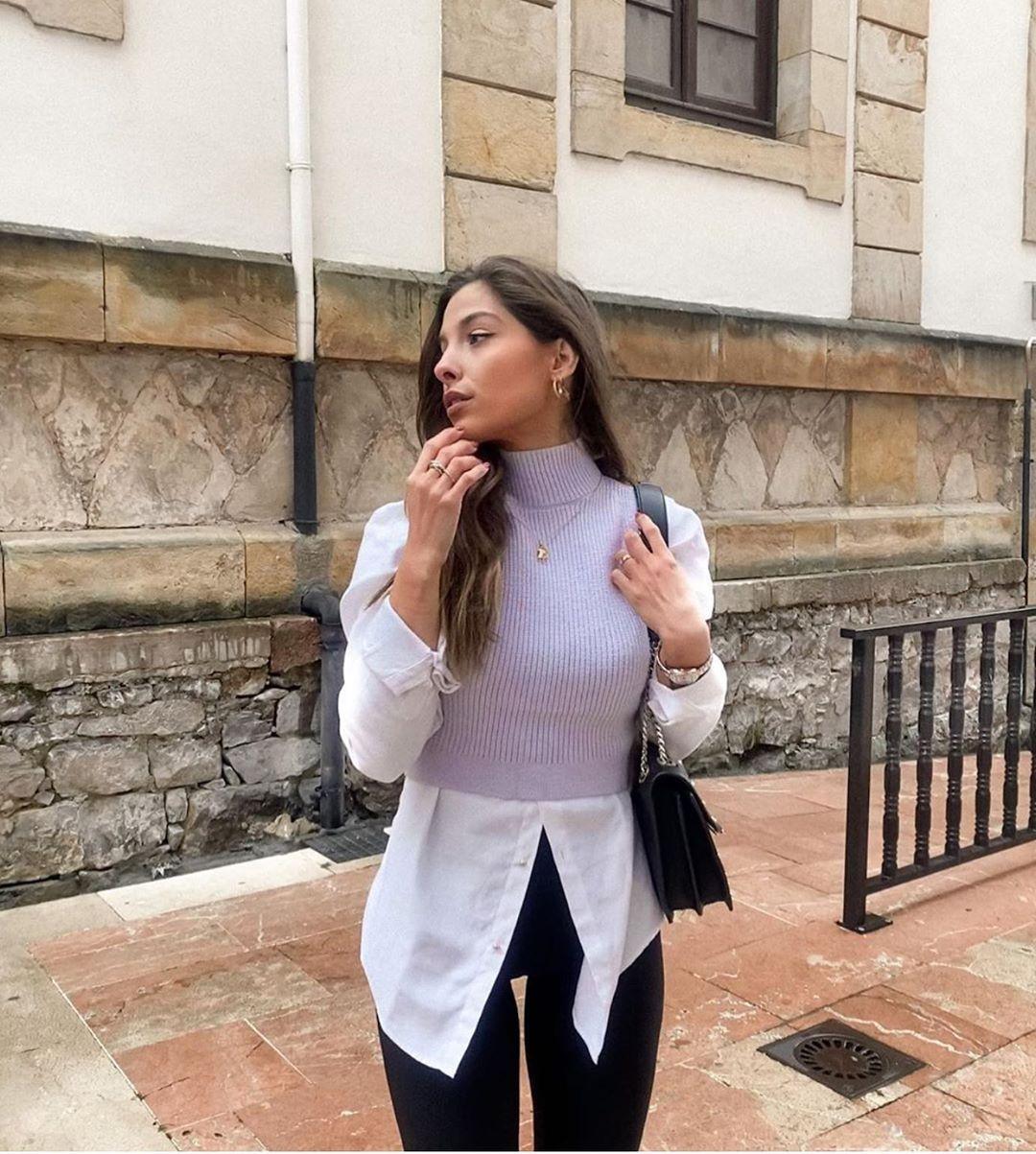 legging avec coutures de Zara sur zara.outfits