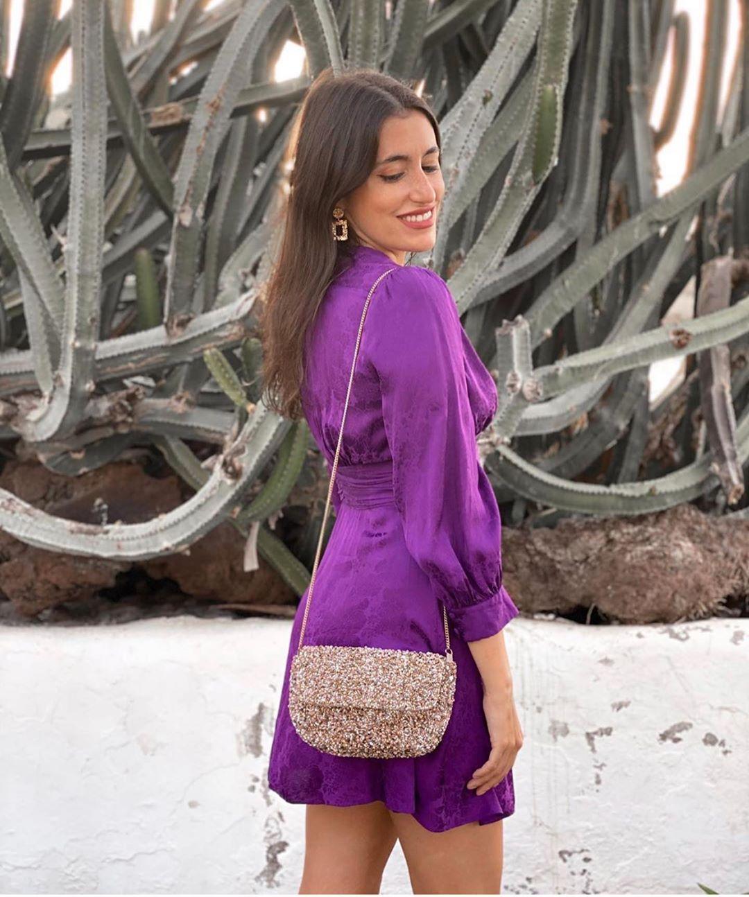 robe en jacquard de Zara sur zara.outfits