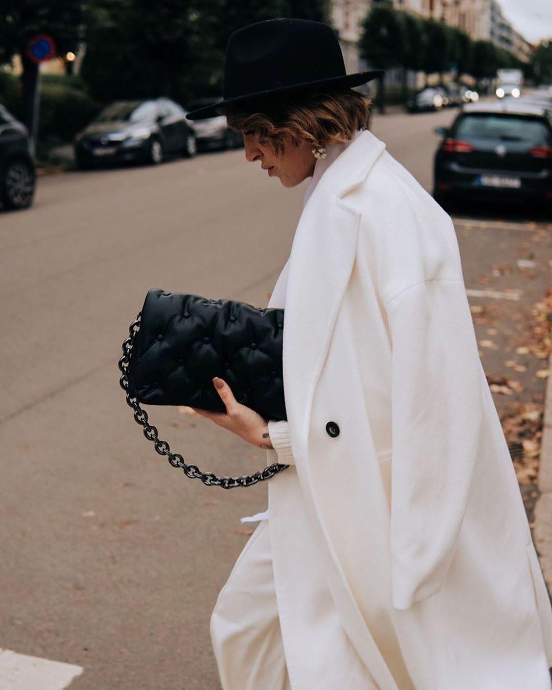 maxi quilted crossbody bag de Zara sur zarastreetstyle