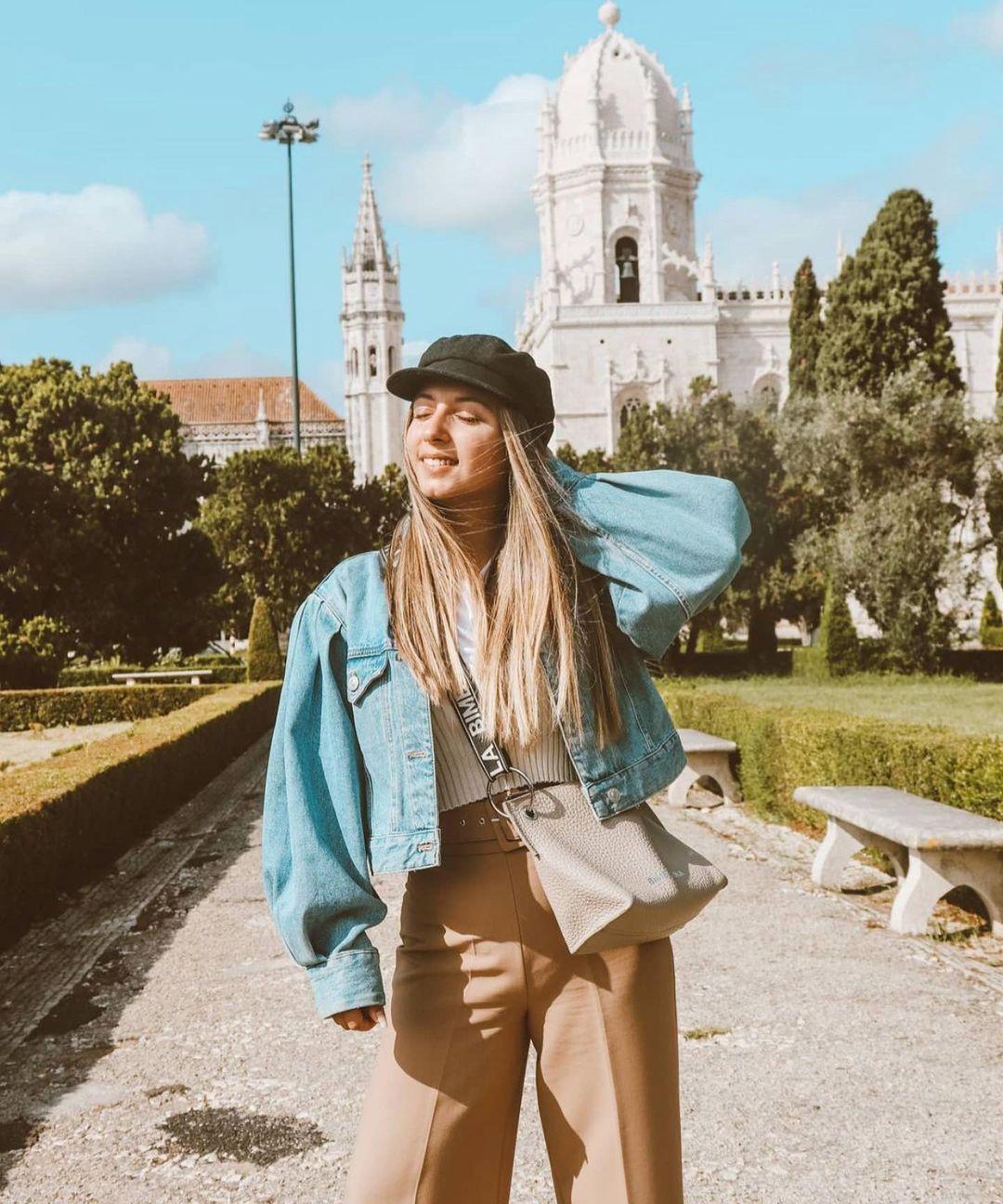 pantalon large à ceinture de Zara sur zara.outfits