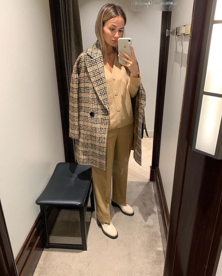 structured tailor jacket de Massimo Dutti sur zara_hm_look_style