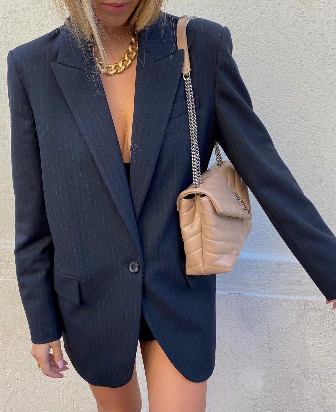 veste à rayure tennis de Zara sur zara.outfits