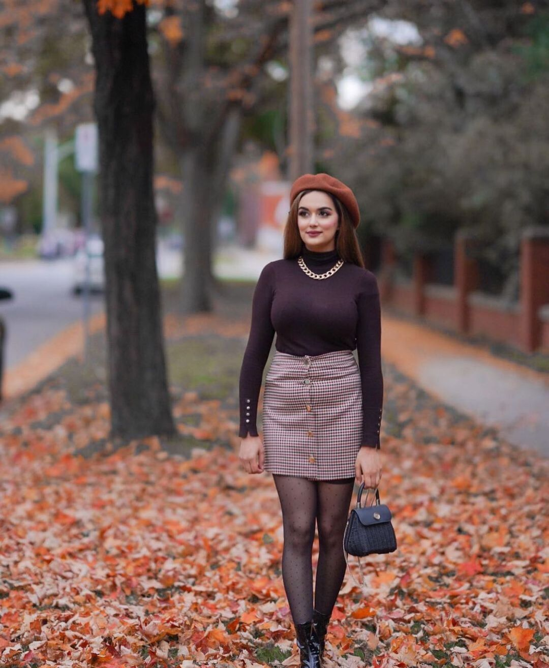 wool beret de Zara sur zarastreetstyle