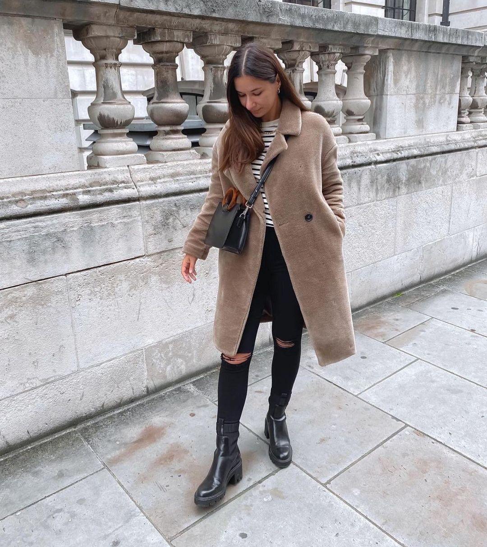 manteau effet fourrure de Zara sur zara.outfits
