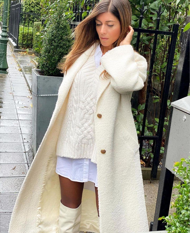 manteau structuré de Zara sur zara.mania