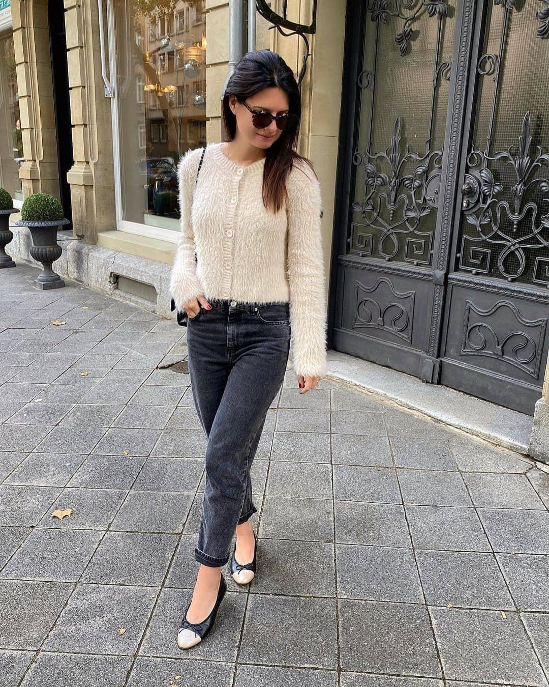 button jacket de Zara sur mango.outfits