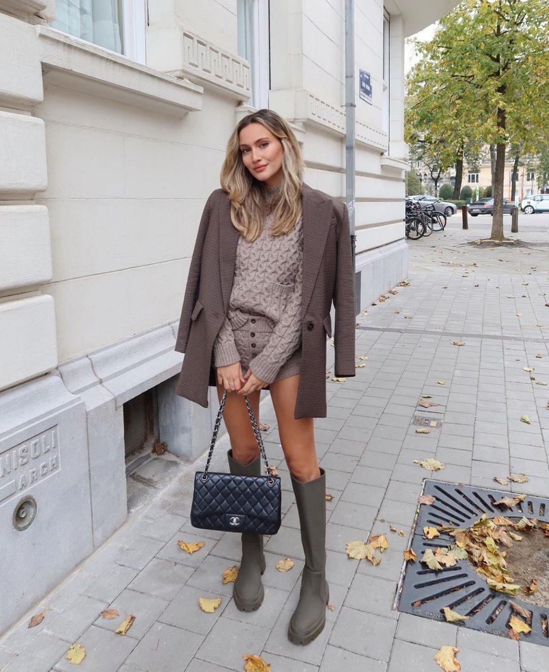 twist knit sweater de Zara sur zarastreetstyle