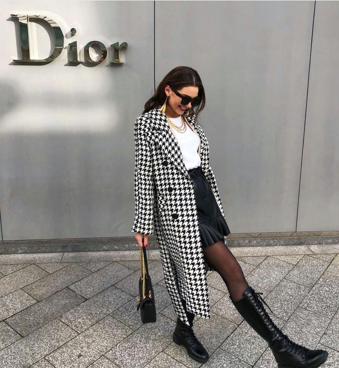 bottes plates à lacets de Zara sur zara.outfits
