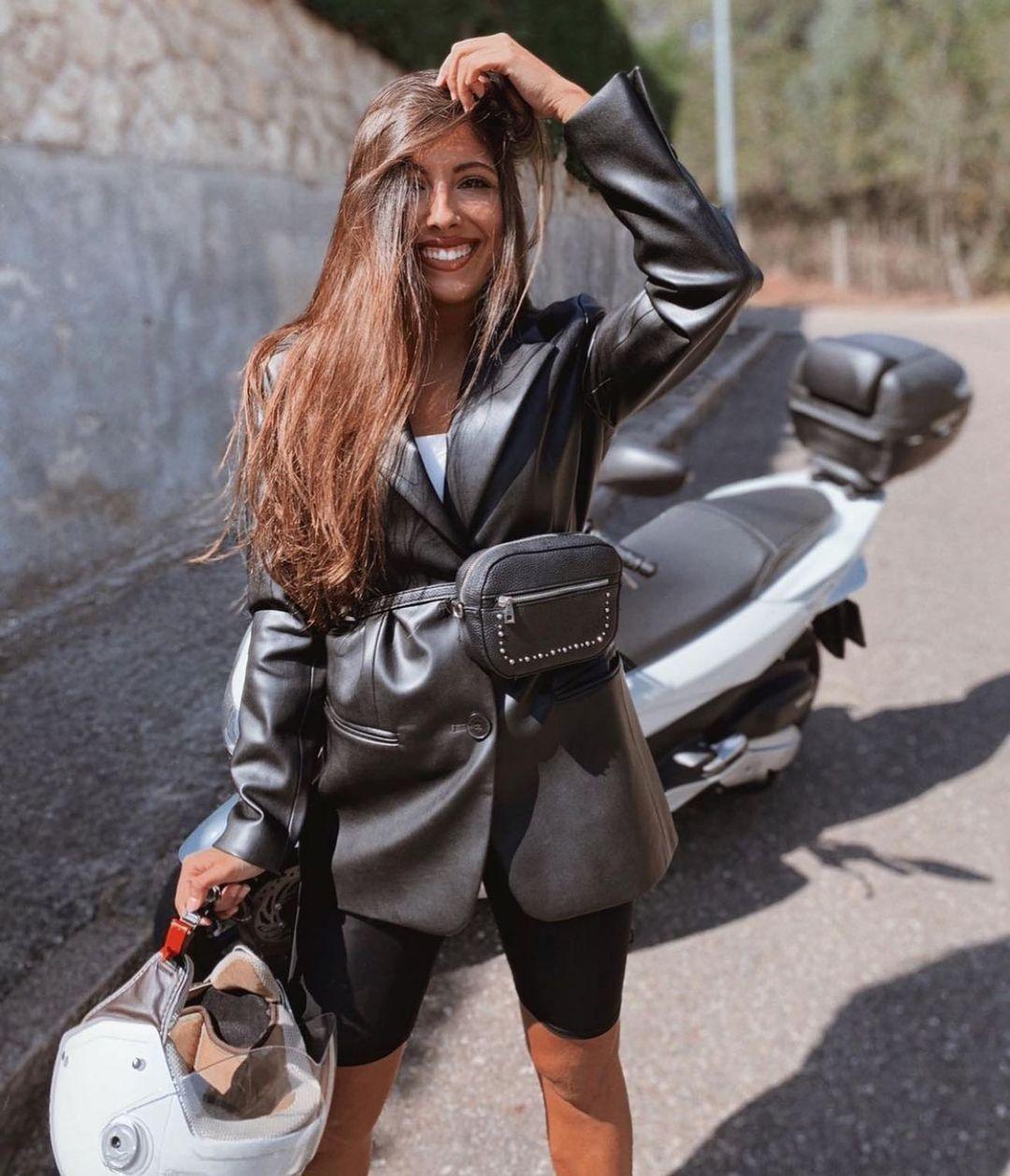 veste en cuir synthétique de Zara sur zara.outfits