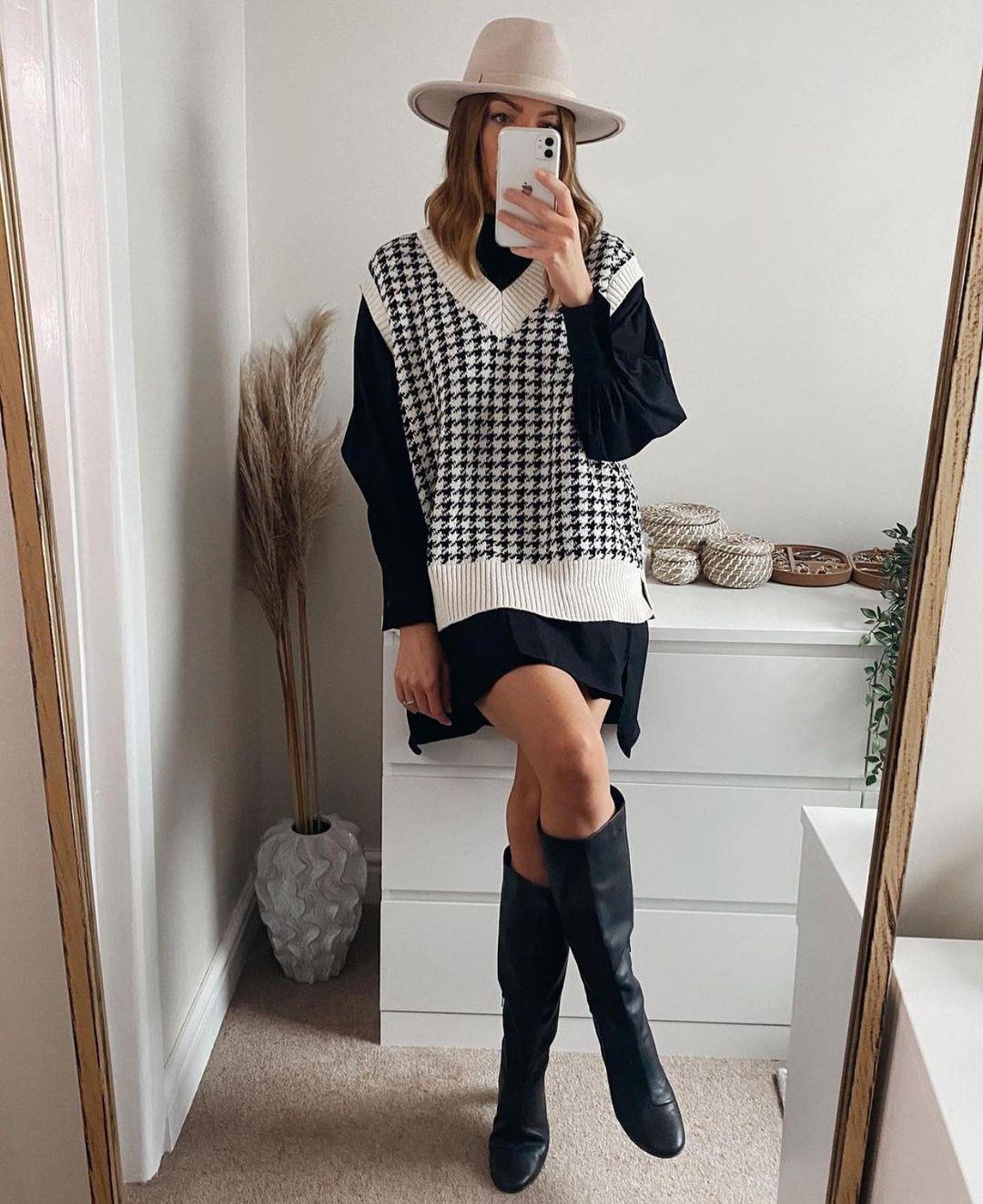 gilet en maille oversize de Zara sur zara.outfits