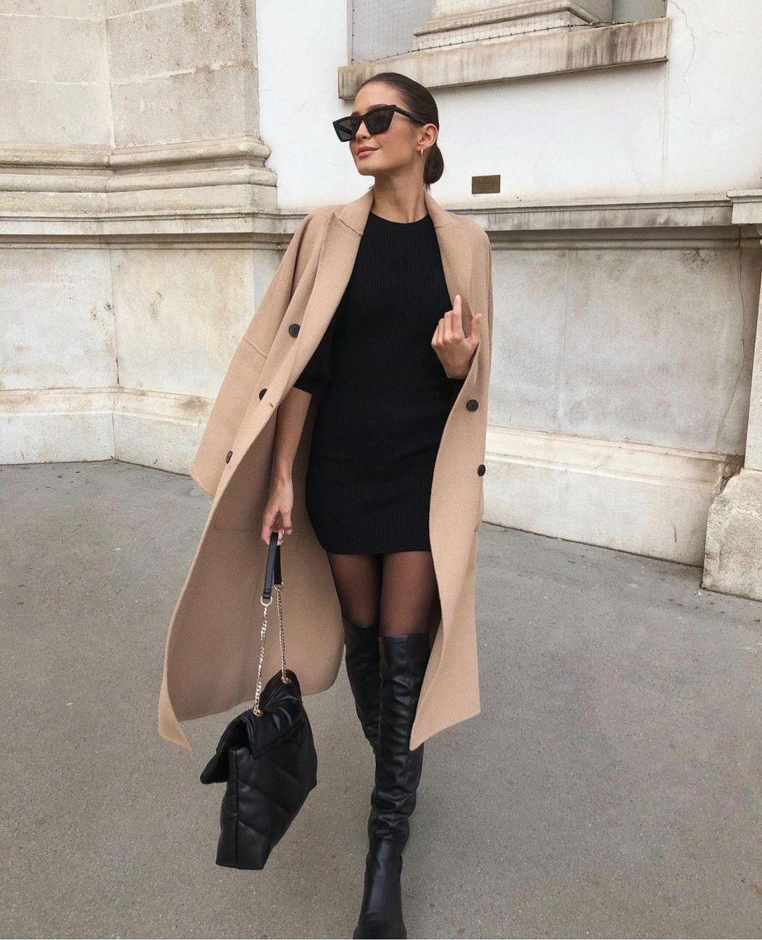 manteau oversize de Zara sur zara.outfits