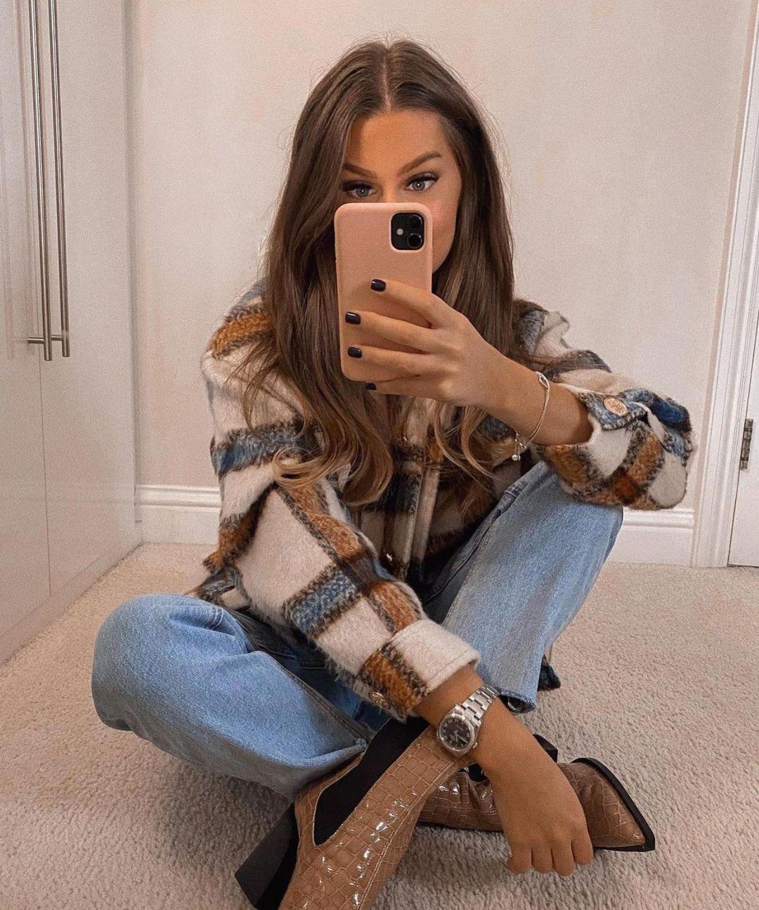 surchemise à carreaux de Zara sur zara.outfits