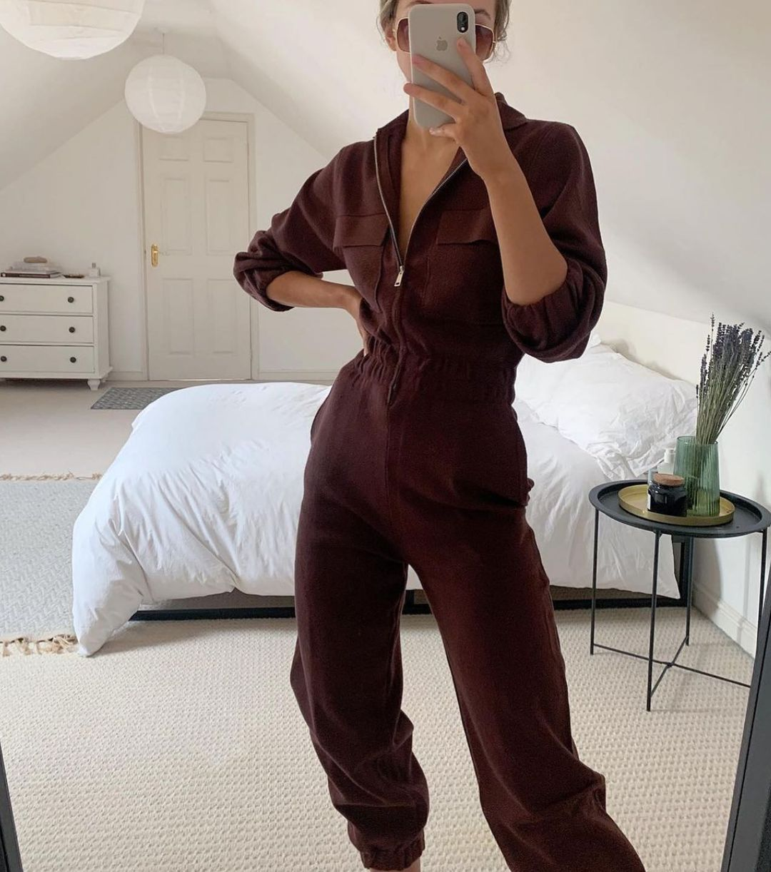 mesh jumpsuit with pockets de Zara sur zara.style.daily