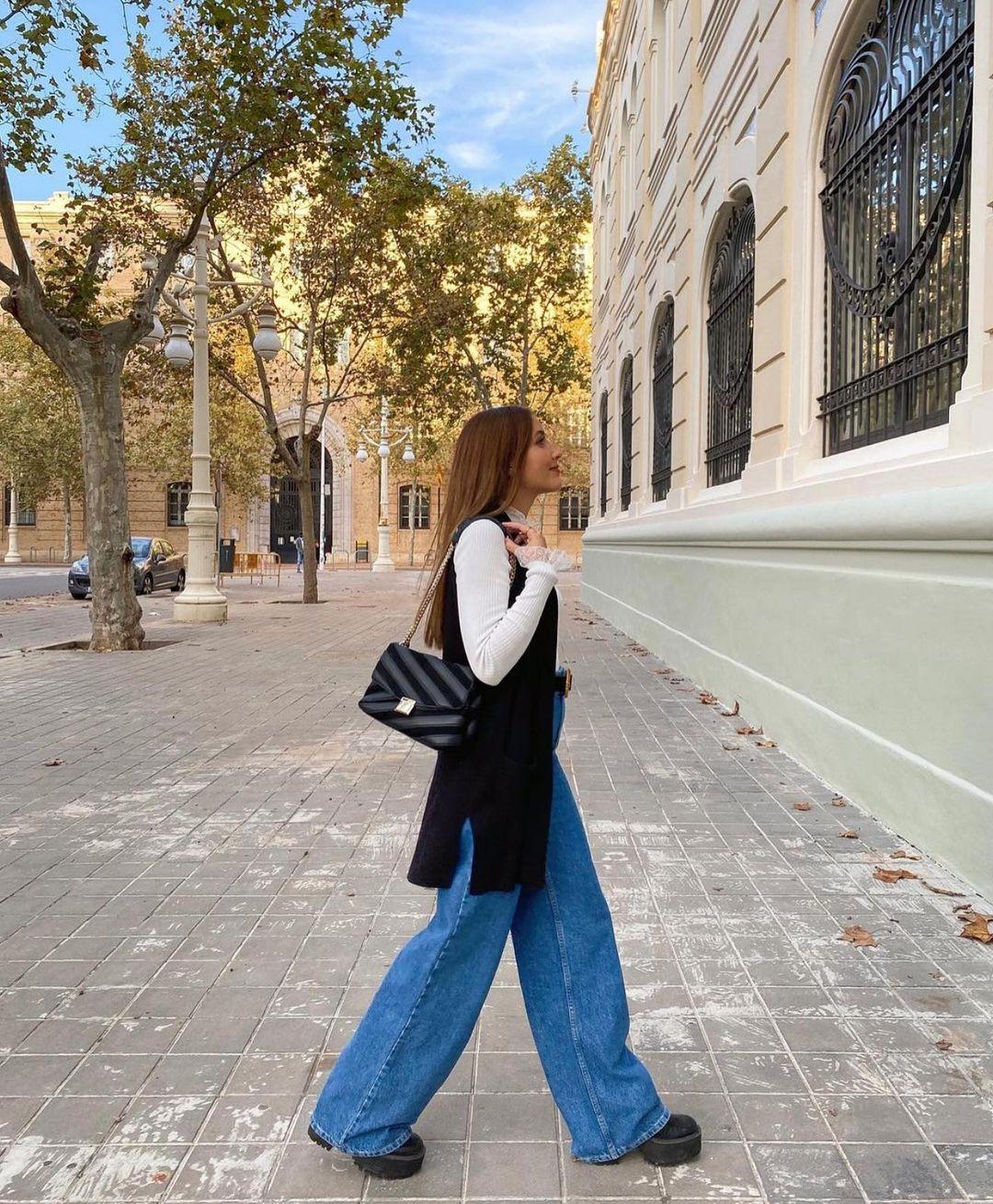 maxi sac bandoulière matelassé de Zara sur zara.outfits