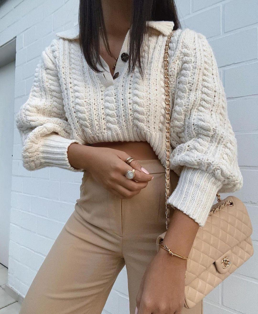 pull à torsades avec laine de Zara sur zara.outfits