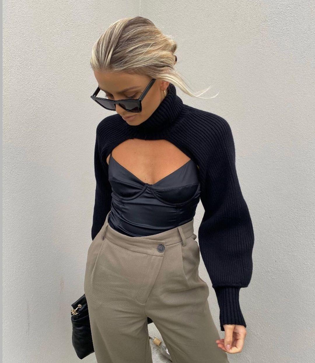 full length pants de Zara sur zara.style.daily