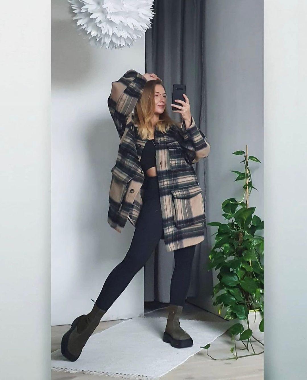 surchemise en laine mélangée de H&M sur hm.addicted