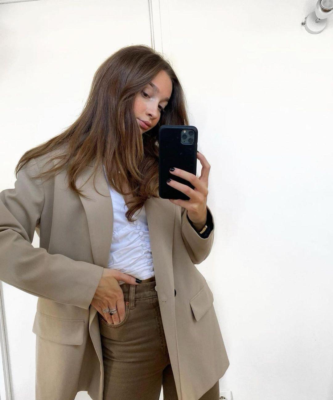 veste oversize en lin de Zara sur zara.outfits