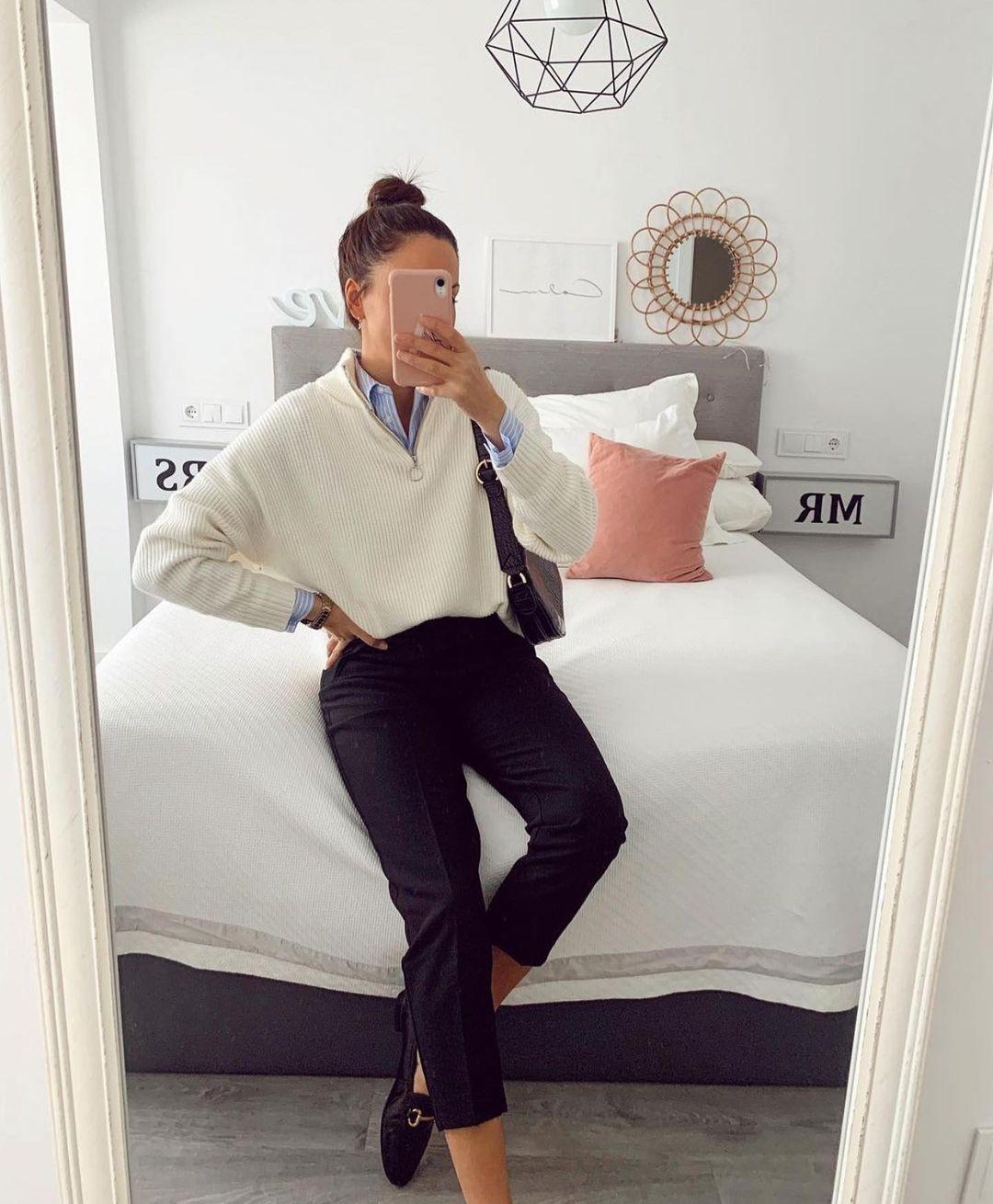 pull bimatière avec paillettes de Zara sur zara.outfits