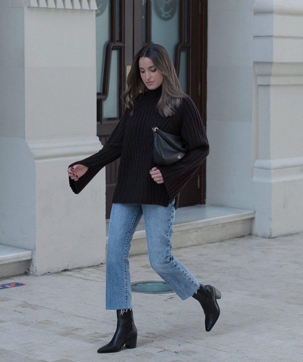 jeans culotte de Mango sur mangoooutfits