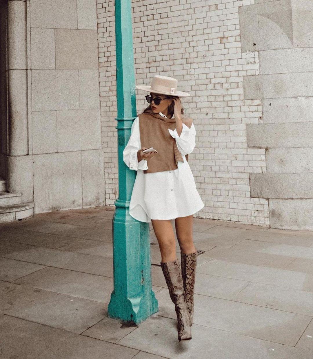 gilet en maille à ouvertures de Zara sur zara.outfits