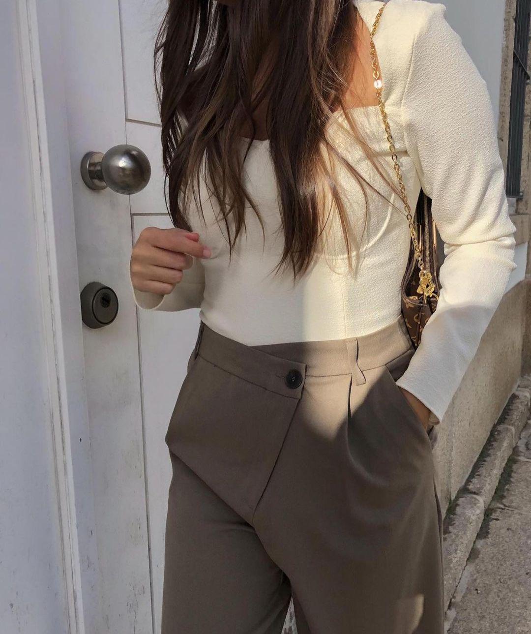full length pants de Zara sur zaraaddiction