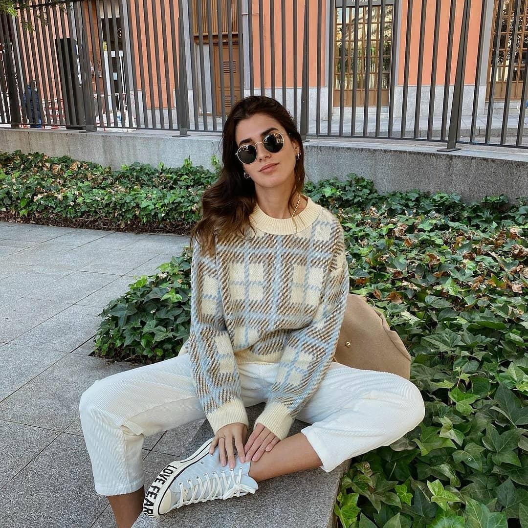 sweater austen de Mango sur mangooutfits