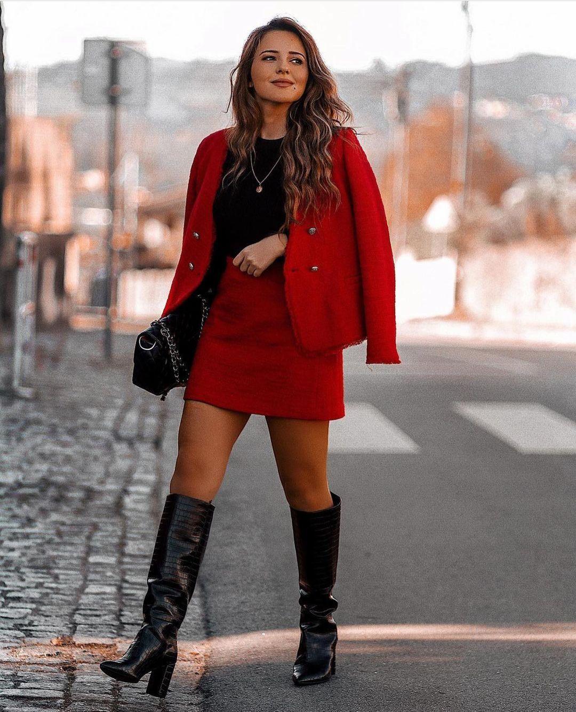 bottes à talons avec imprimé animalier de Zara sur zara.outfits