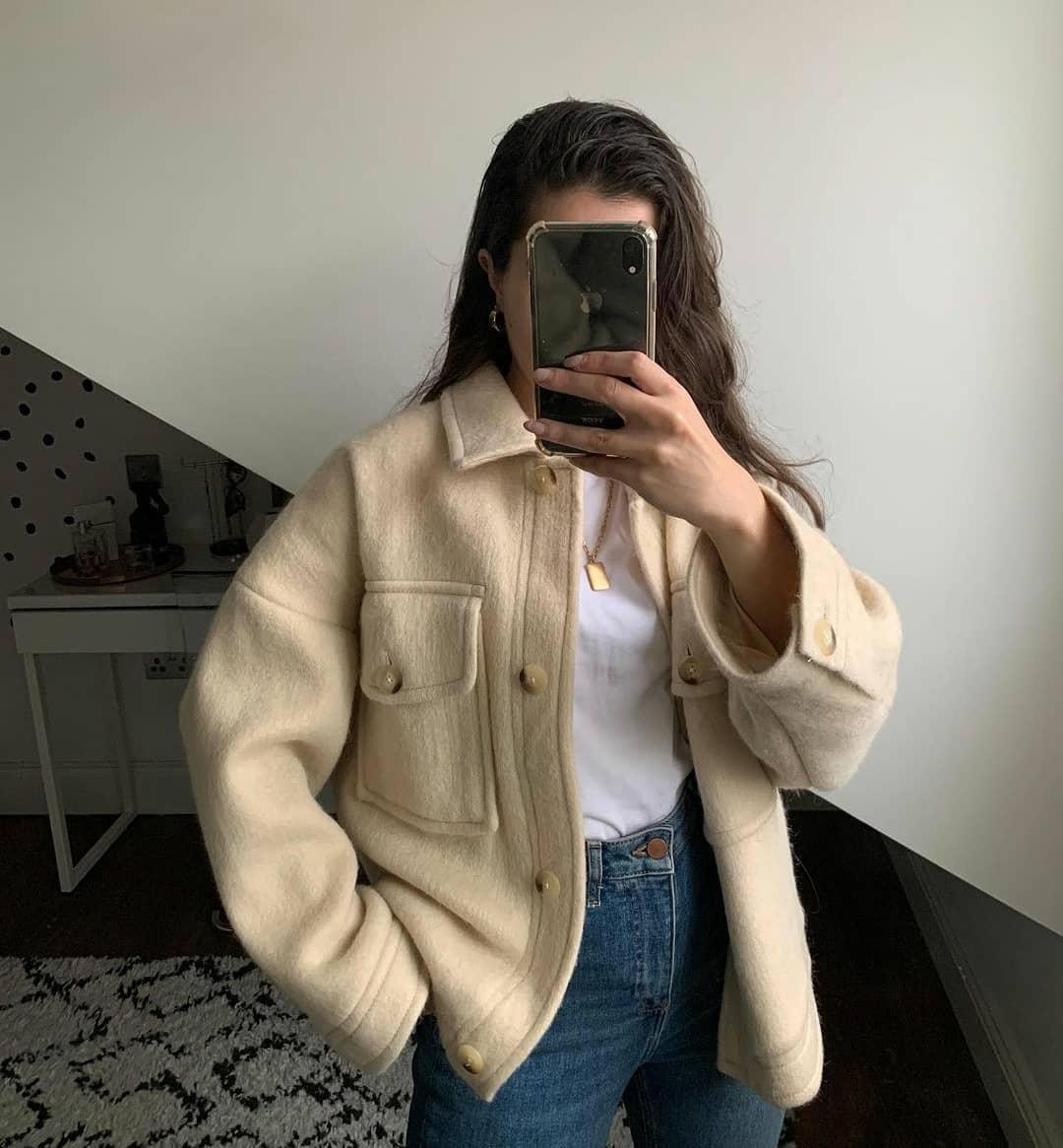 jacket jarabe de Mango sur mangooutfits