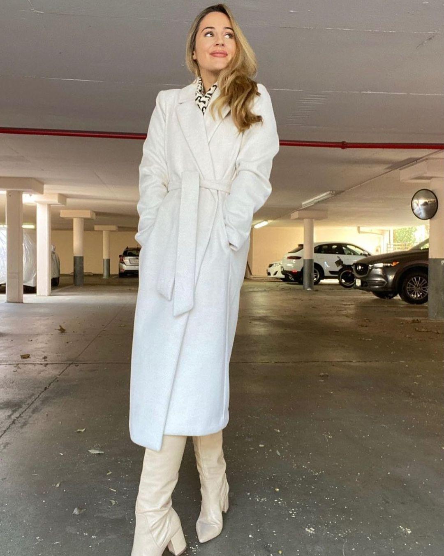 manteau en laine mélangée de H&M sur hm.addicted