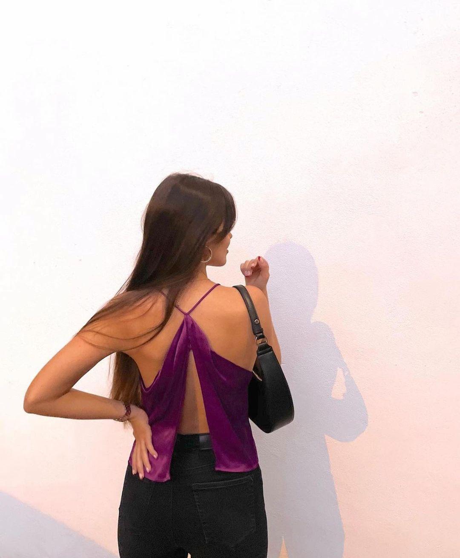 top style lingerie à bretelles de Zara sur zara.outfits