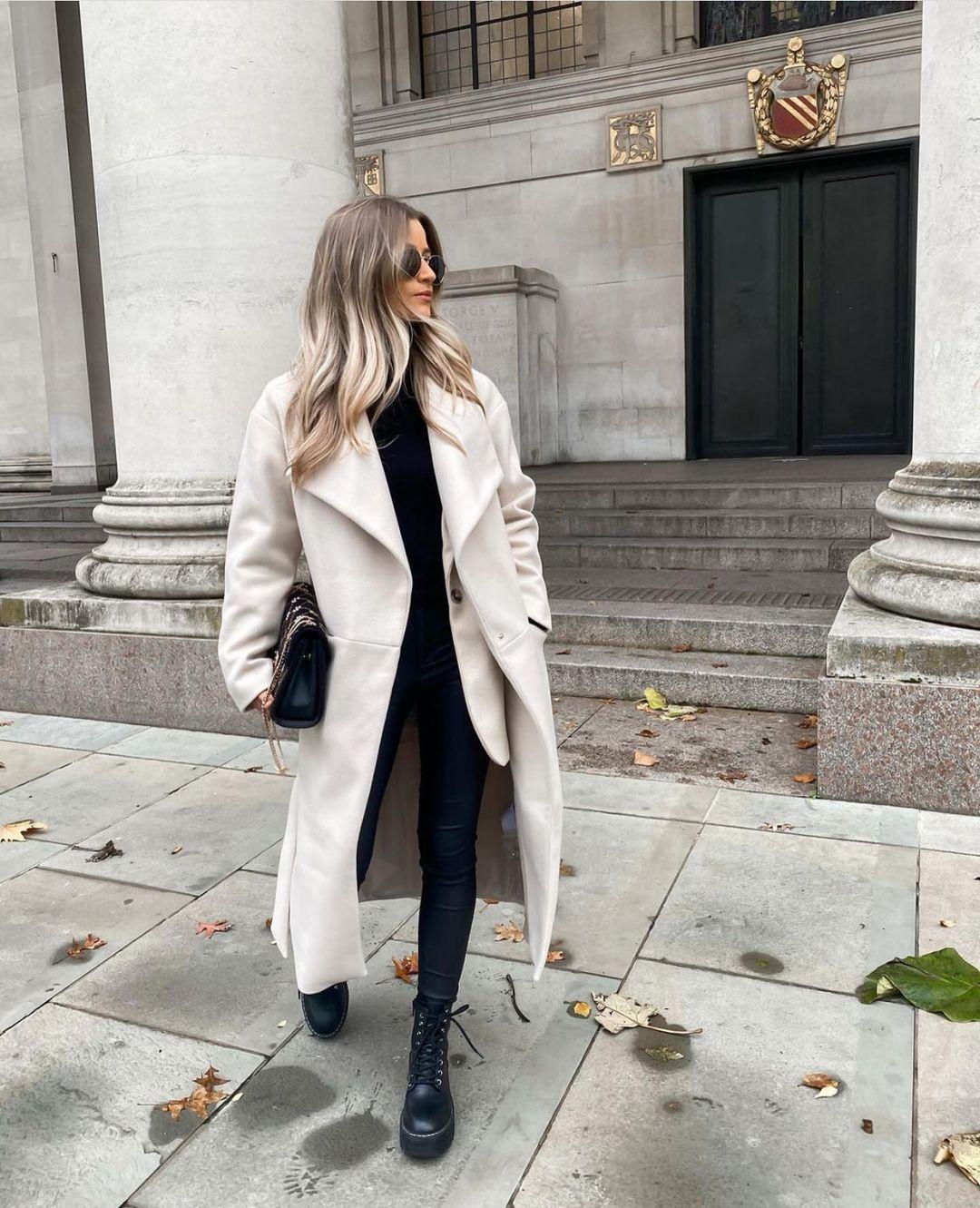 manteau à ceinture de Zara sur zara.outfits