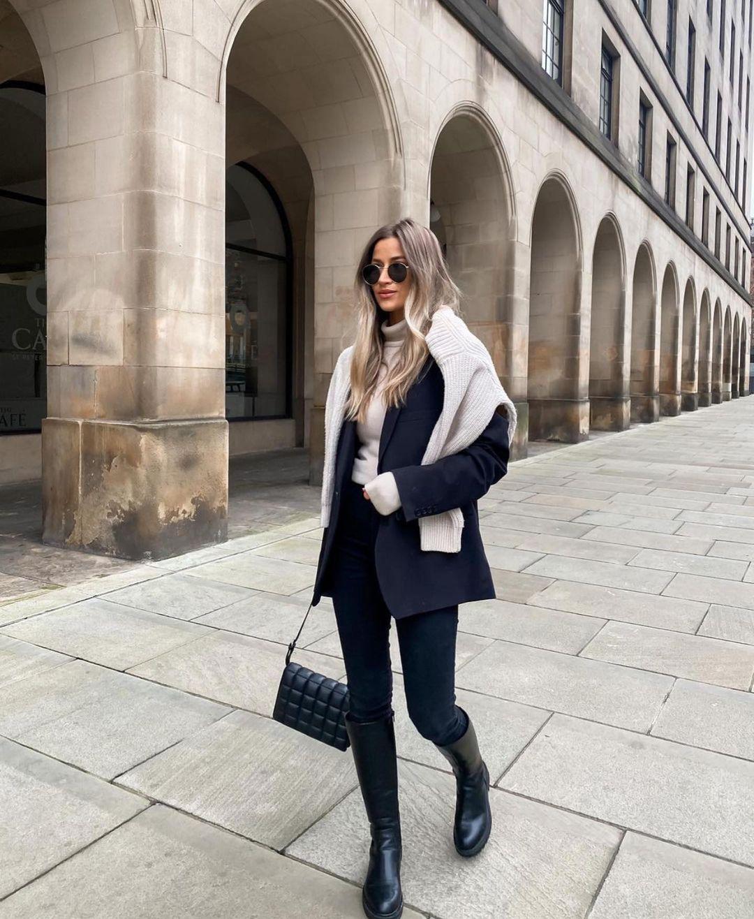haut en maille à poches de Zara sur zara.outfits