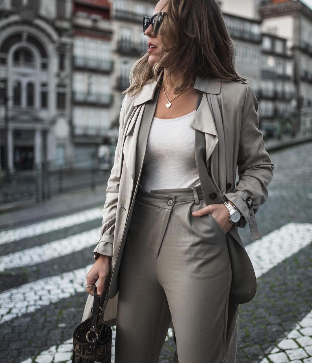 pantalon full length de Zara sur zara.outfits