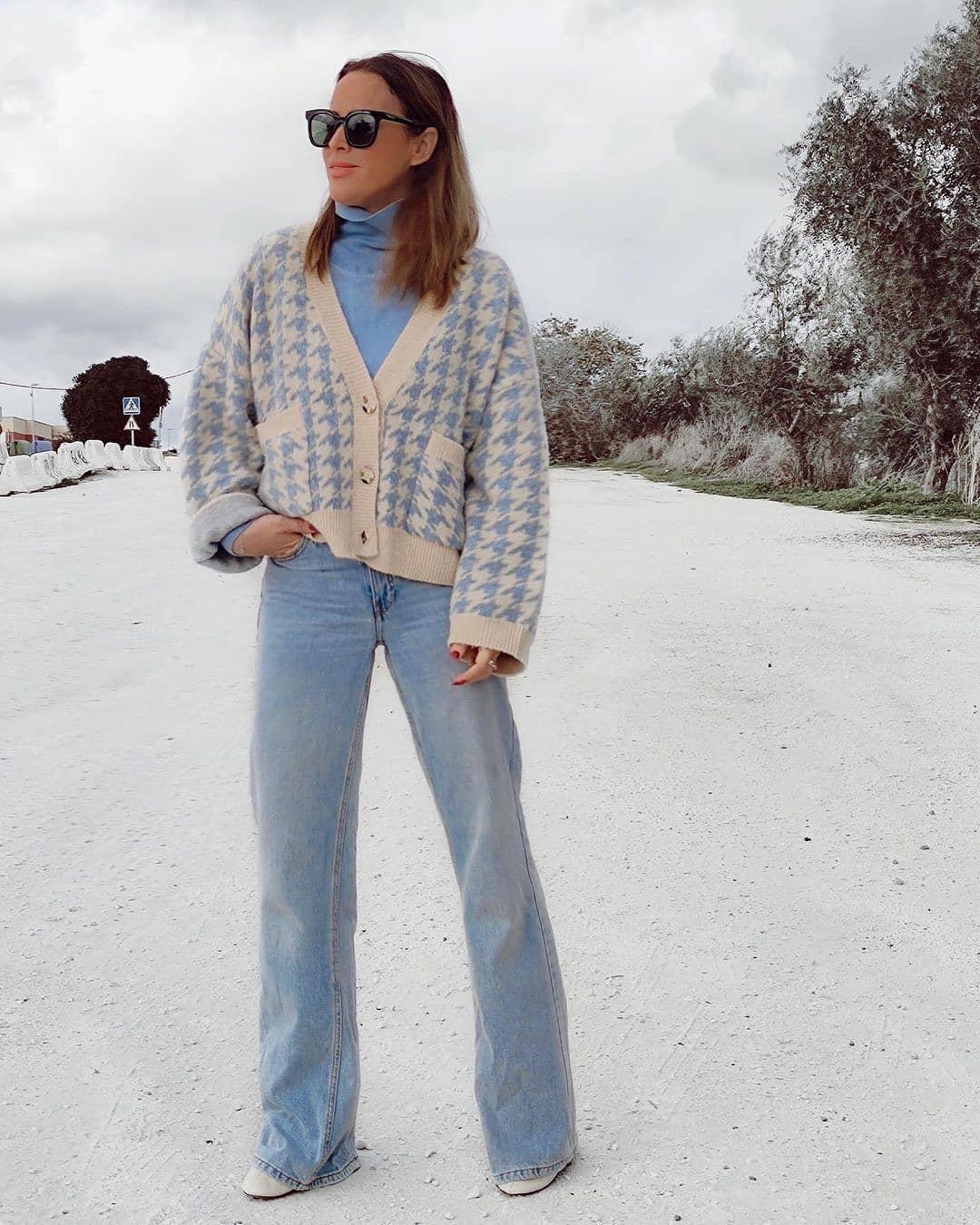 jeans chino de Mango sur mango.outfits