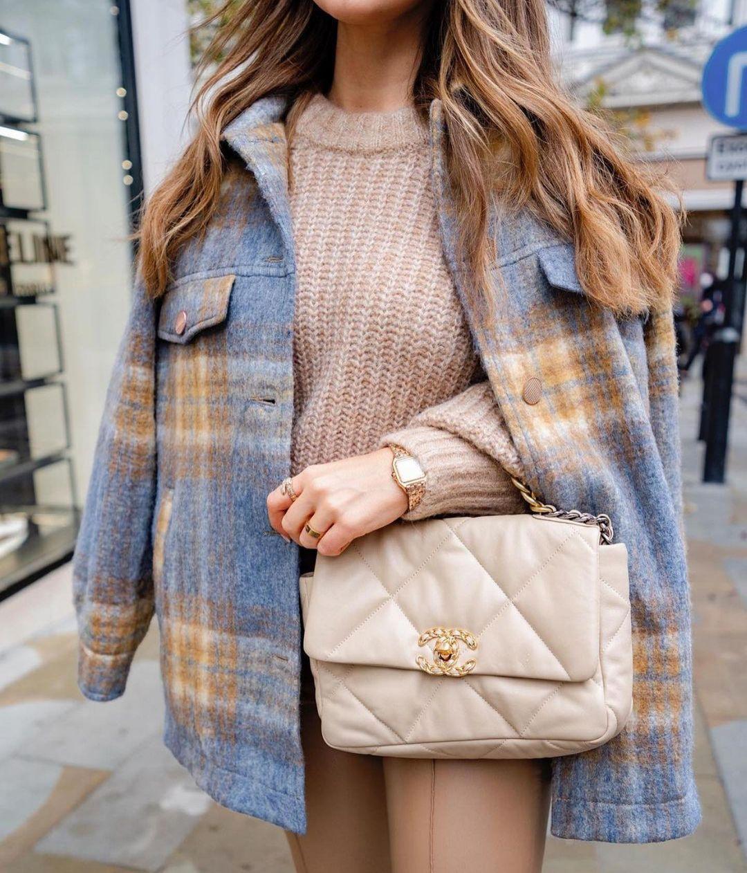 surchemise à carreaux oversize de Zara sur zara.outfits