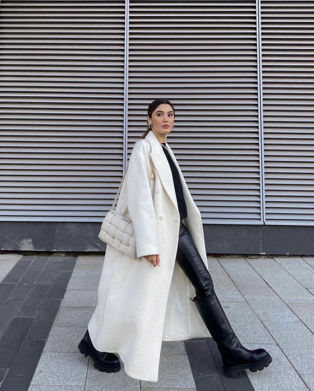 oversize coat woman unit. 01 de Zara sur zarastreetstyle