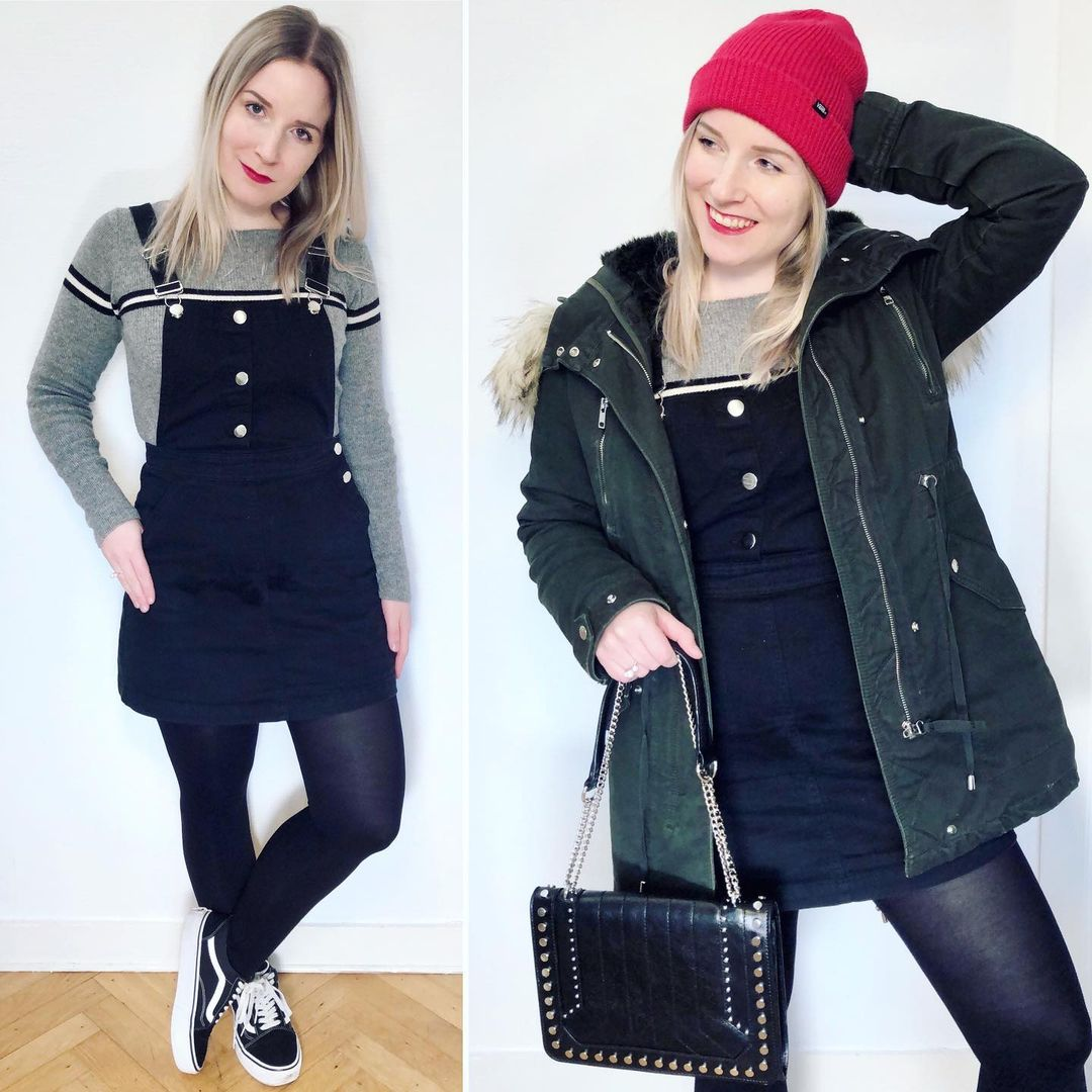rock chain leather shoulder bag de Zara sur ixelloisechic