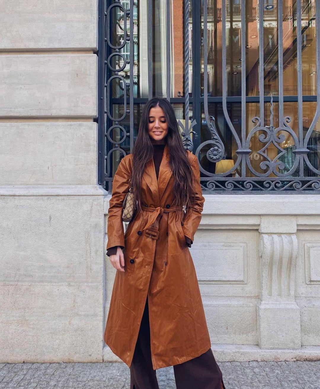 manteau en cuir synthétique édition limitée de Zara sur zara.outfits