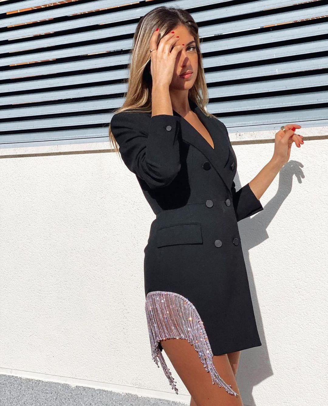 blazer robe limited edition de Zara sur zara.outfits
