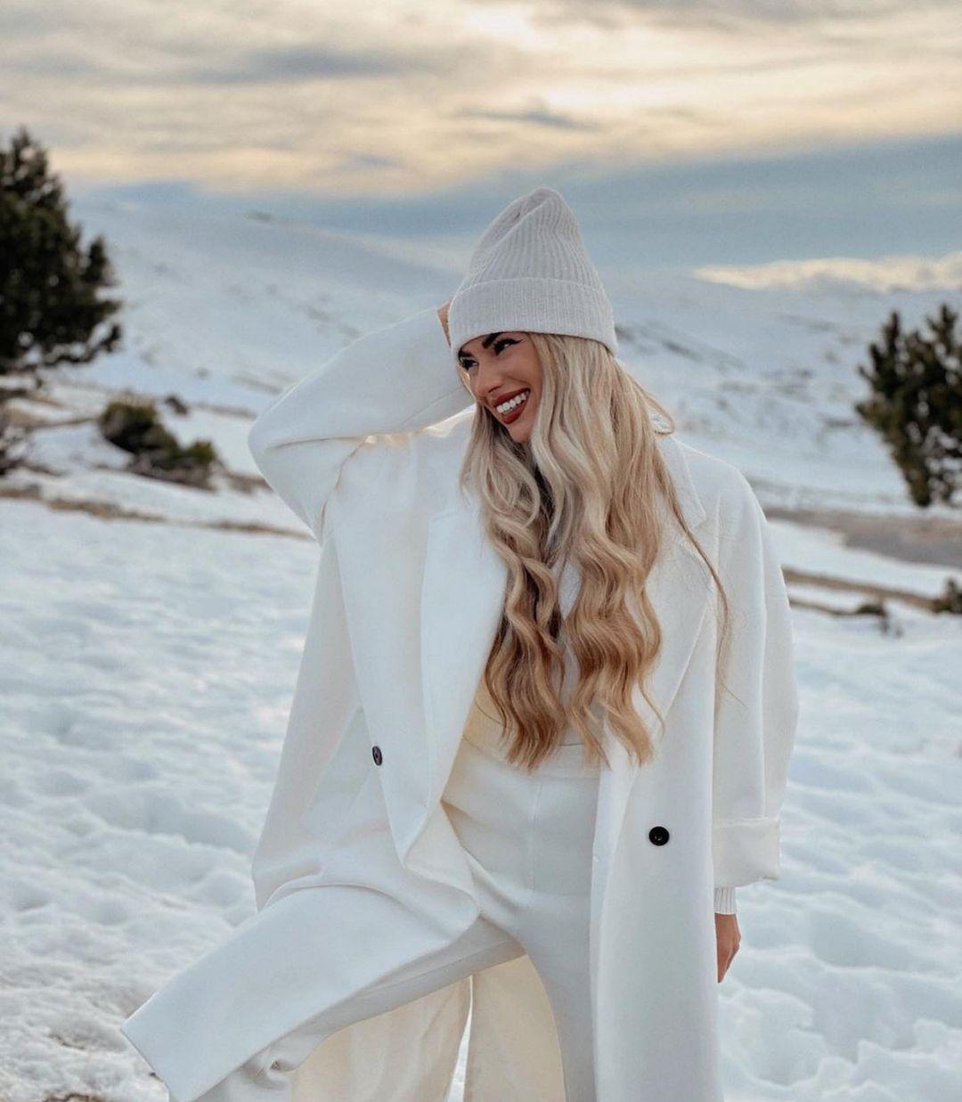 bonnet avec laine de Zara sur zara.outfits
