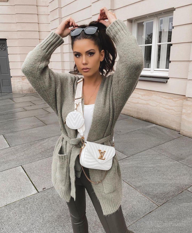 gilet oversize avec laine de Zara sur zara.outfits