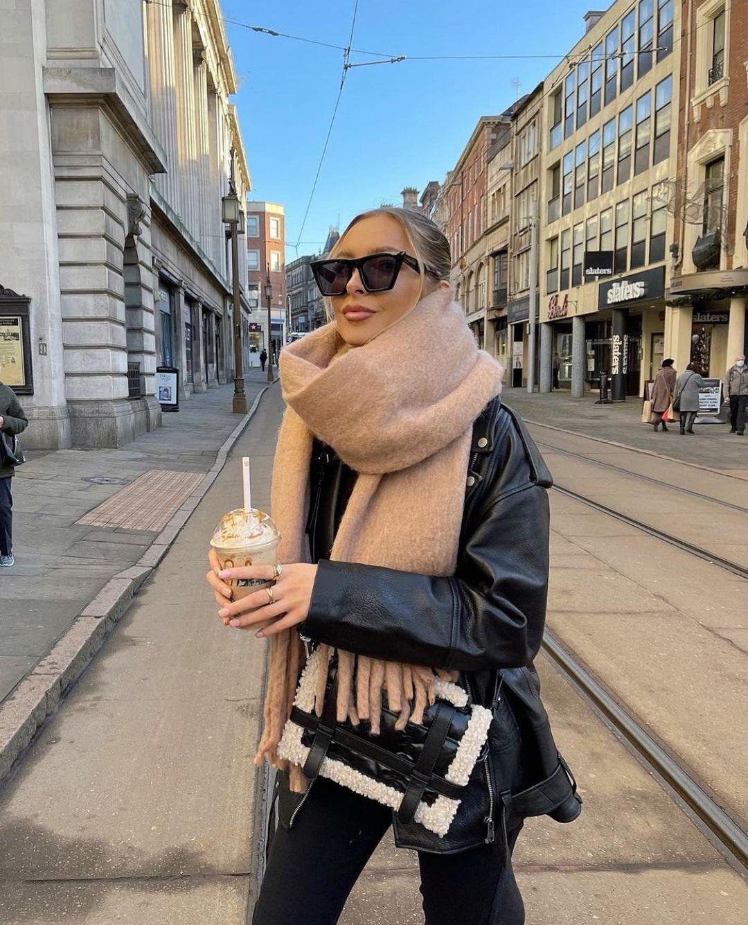 quilted city bag with sheep effect de Zara sur zarastreetstyle
