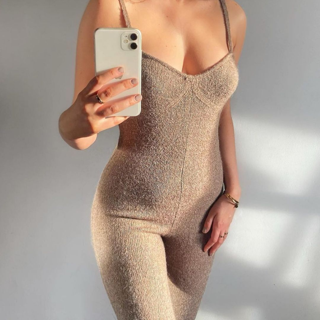 jumpsuit with mesh straps de Zara sur zara.style.daily
