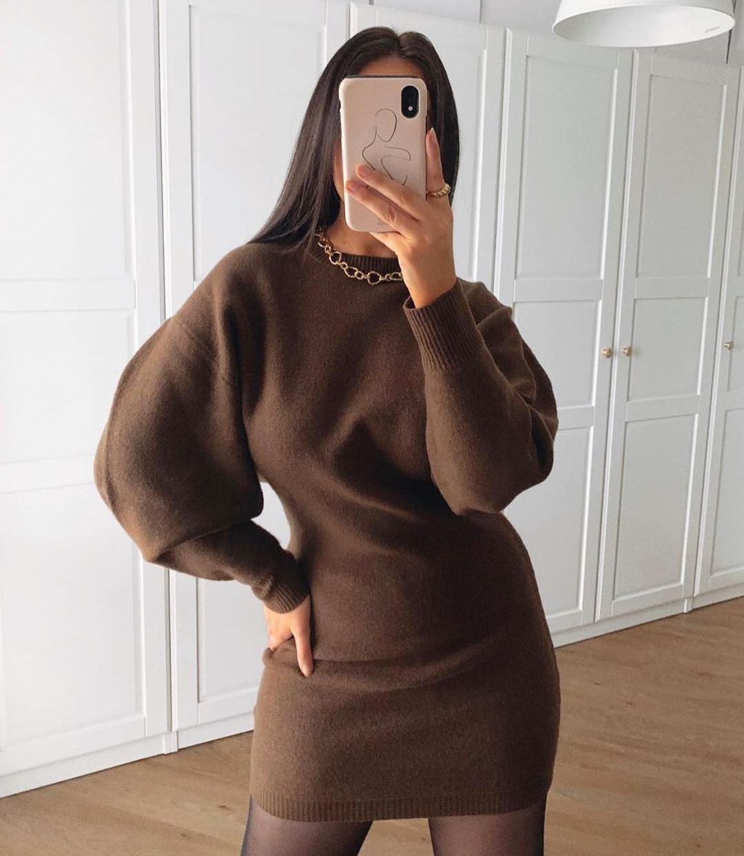 loose knit dress de Zara sur zaraaddiction