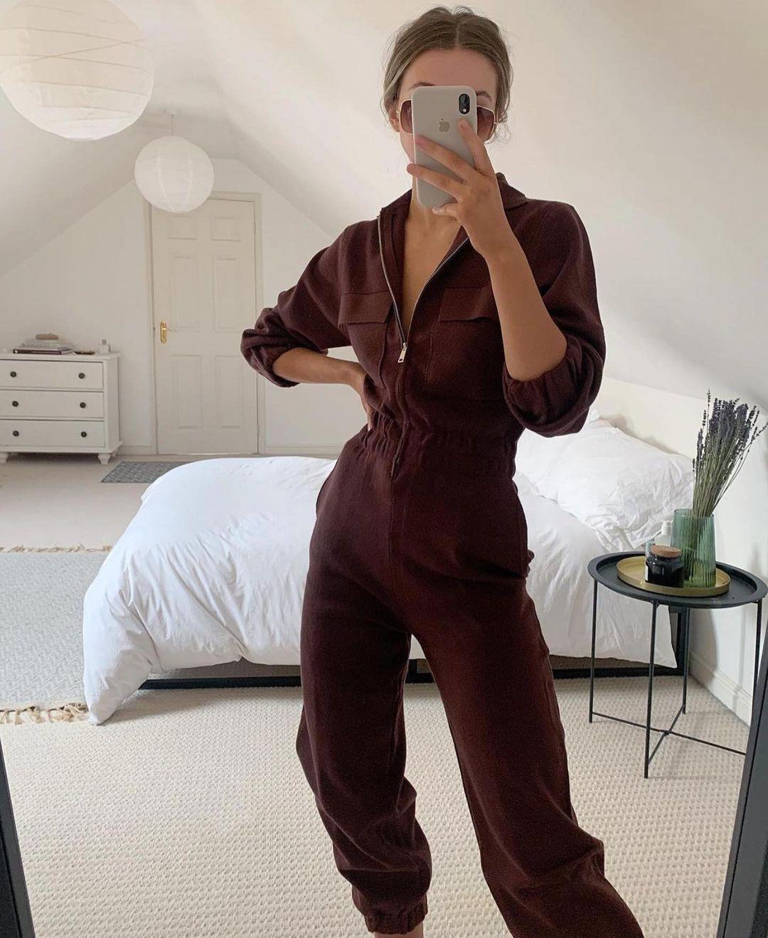 mesh jumpsuit with pockets de Zara sur zaraaddiction