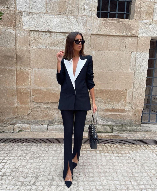 legging avec taille en contraste de Zara sur zara.outfits