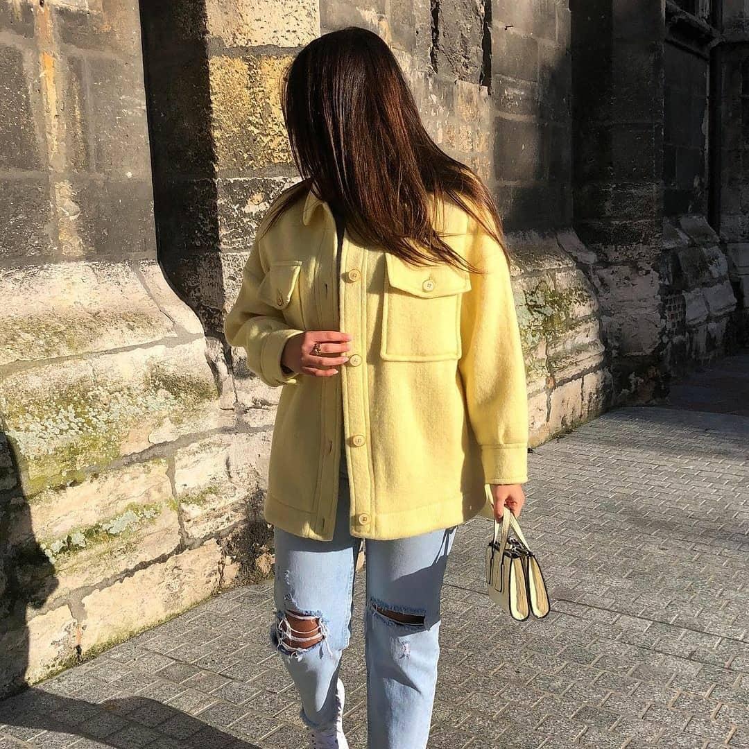 jacket country de Mango sur mangooutfits