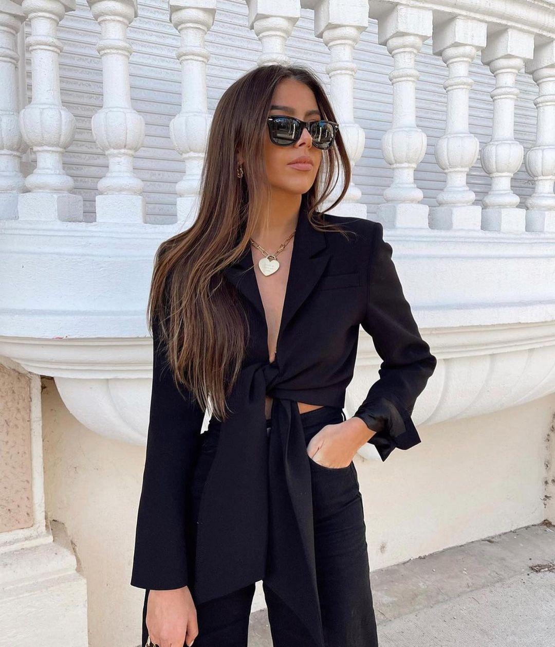 short knot jacket de Zara sur zaraaddiction